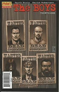 The-Boys-Comic-Issue-31-Modern-Age-First-Print-2009-Garth-Ennis-Darick-Robertson