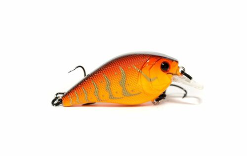 6th Sense Crush 50X Shallow 2 1//4 inch Squarebill Crankbait Bass Fishing Lure