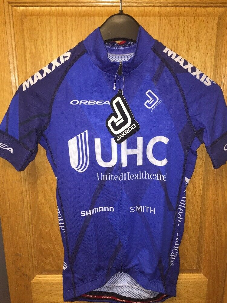 United HealthCare UHC Pro Cycling Team Summer Weight Jersey XS Orbea Smith