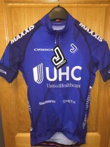 United HealthCare UHC Pro Cycling Team Summer Weight Jersey XS Orbea ... 496b8f5af