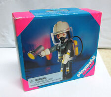 Playmobil Special 4608 Fireman w/ Flashlight Brand New in Box Rare