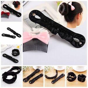 New-Women-Magic-Braiders-Hair-Twist-Styling-Clip-Stick-Bun-Maker-Braid-Tool-Fy
