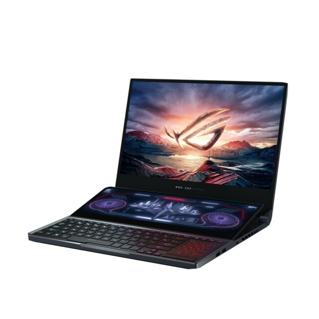 Asus ROG ZEPHYRUS DUO 15 Core i9-10980HK. ONLY 1 LEFT.