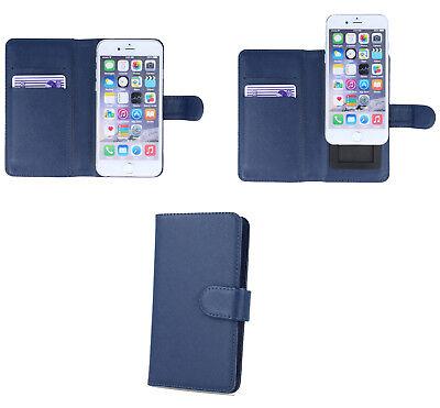 Handy Tasche für Haier Book Case Klapp Cover Schutz Etui Hülle Flipcase Wallet