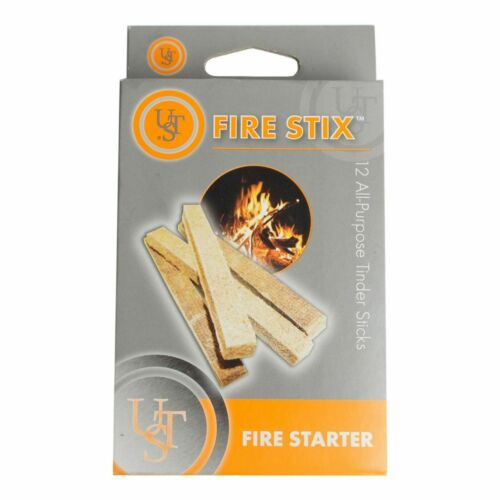 Fire Starter Stick Set of 12 Camping Hiking Cooking Outdoors Boy Scout Survival