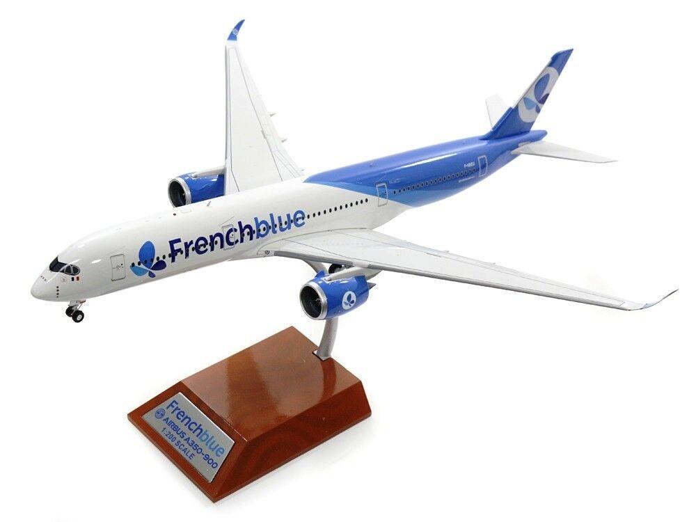 barato Inflight 200 IF350BF001 1 200 Azul Francia Airbus A350-941 A350-941 A350-941 F-hreu con Soporte  mejor marca