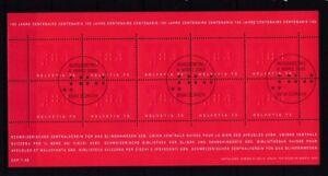 Suisse 2003 Estampillé Klein Arc Minr. 1828 Centrale Association Pour La Nature Aveugle-afficher Le Titre D'origine