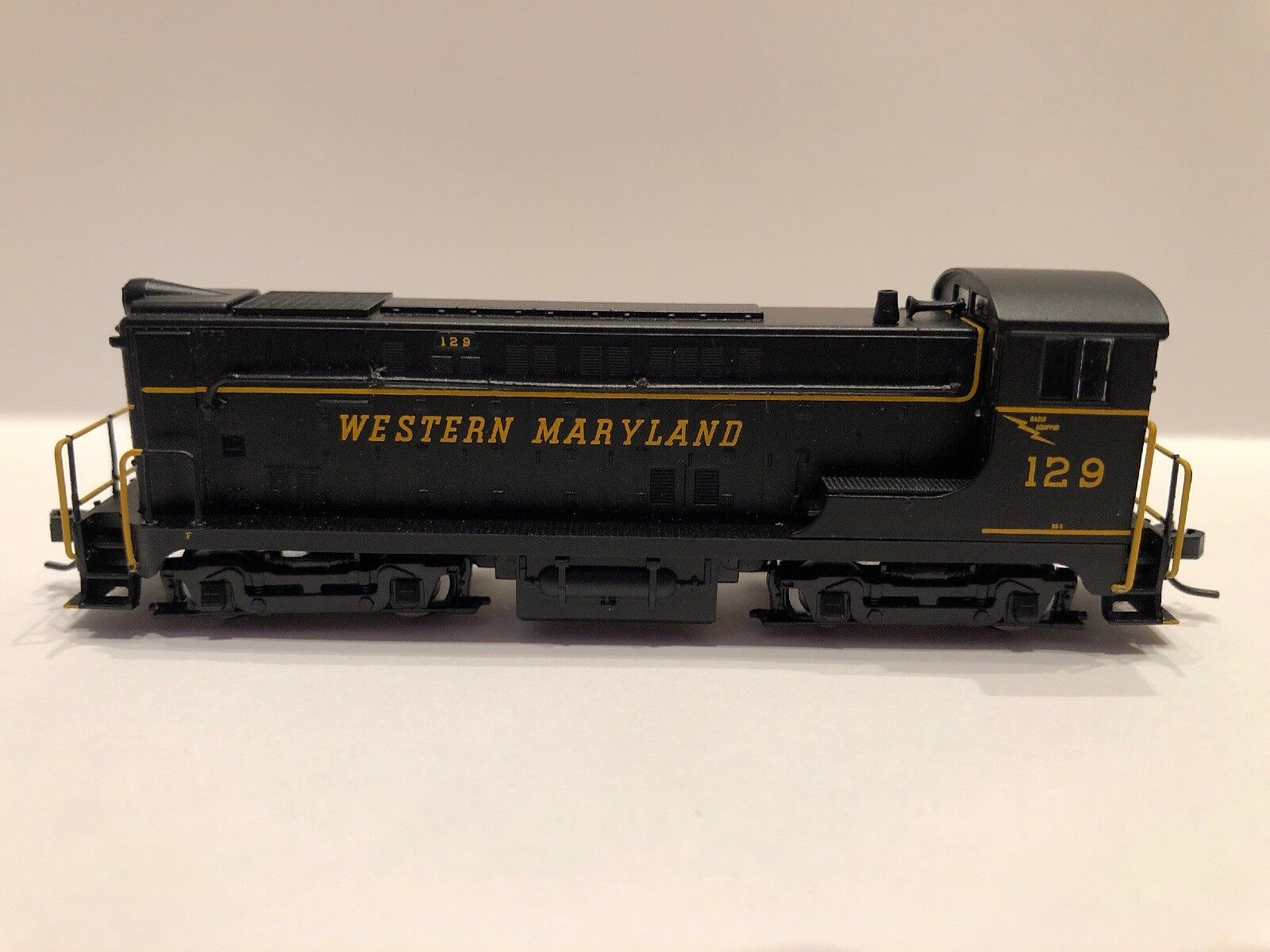 Atlas N Scale VO-1000 Western Maryland RD  129 40003660 Nuovo Release DCC Equipped