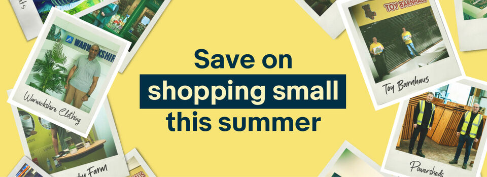 Shop now - Support small business power