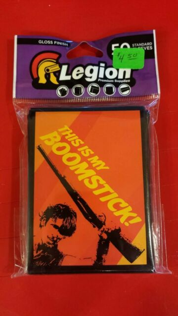 This is my Boomstick! card sleeves 50 count NEW! Legion Supplies ART052