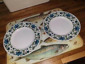 Vintage-Midwinter-Spanish-Garden-2no-tea-plates-by-Jessie-Tait
