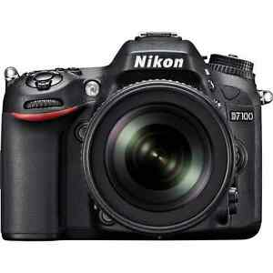 itm Nikon D DSLR Camera with  mm f G ED VR DX Lens
