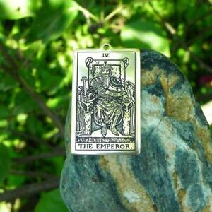 Pendant or Wallet insert card Knight of Cups Tarot card Amulet