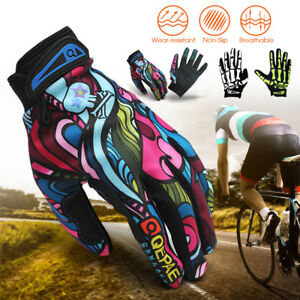 Plein-doigt-Gants-Racing-Gants-de-moto-BMX-Mountain-Bike-Cyclisme-Velo-Bicyclette