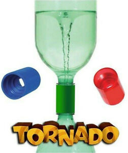TORNADO-TUBE-Vortex-cyclone-2liter-bottle-connector-Homeschool-Science-sensory
