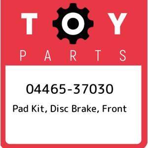 04465-37030-Toyota-Pad-kit-disc-brake-front-0446537030-New-Genuine-OEM-Part