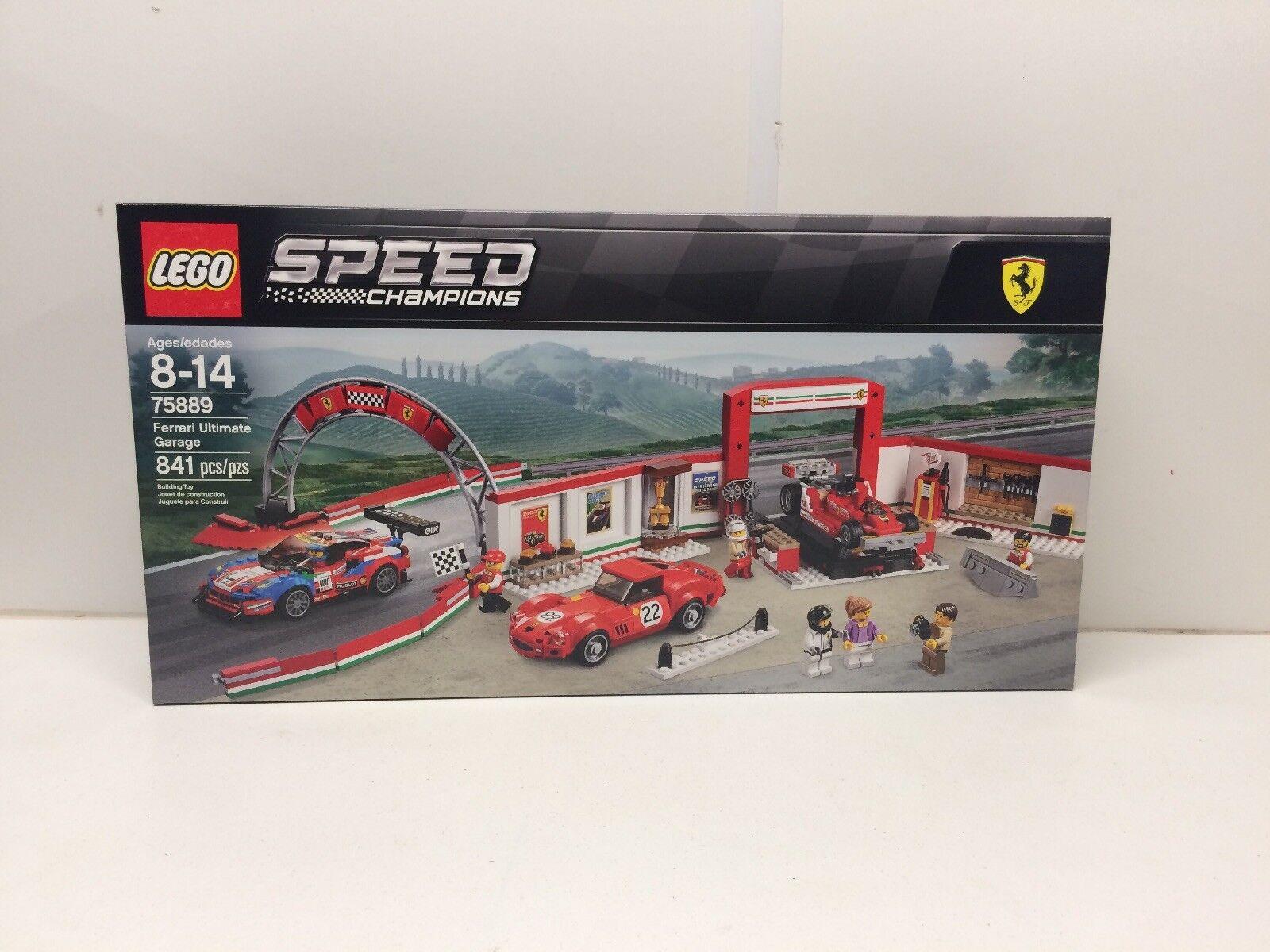 NEW NIB LEGO  Speed Champions 75889 Ferrari Ultimate Garage