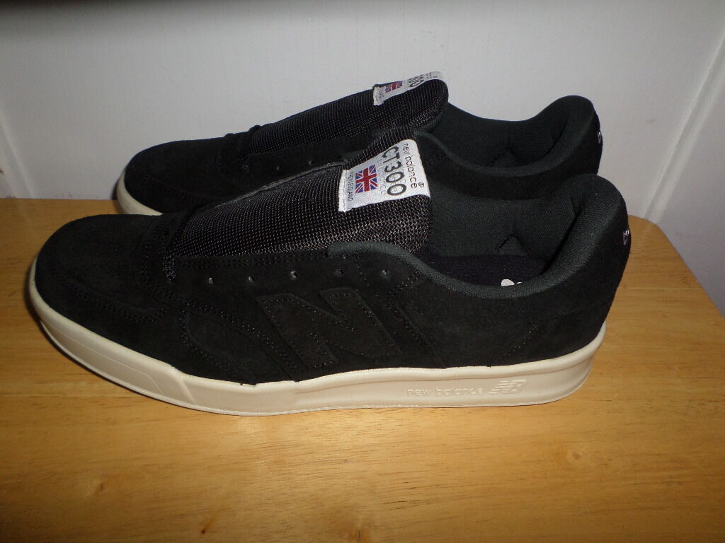 MUST SEE negro NEW BALANCE CT300  CT300SKK MADE IN ENGLAND USA Talla 12 D