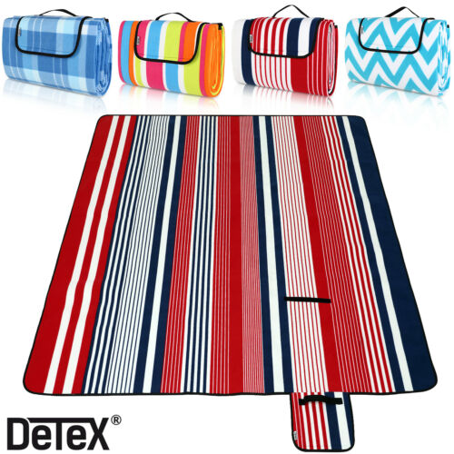 Picnic Blanket DETEX 150// 200cm Camping Travel Outdoor Waterproof Beach Mat Rug