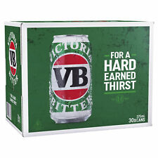 Victoria Bitter Beer VB 30 x 375mL Cans