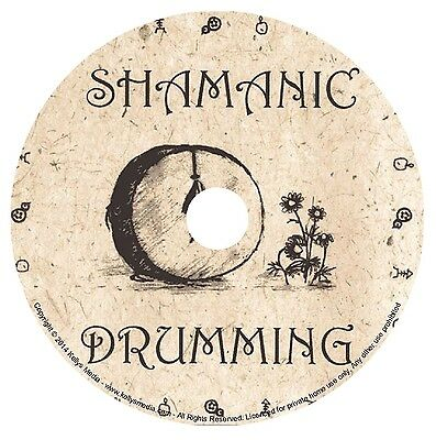 NATIVE AMERICAN SHAMANIC MUSIC CD - DRUMS, CHANTS, RATTLES, MEDITATION & HEALING