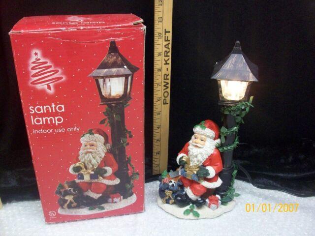Christmas Santa Bag of Toys Figure Lamp Night Light Decor Bed Bath & Beyond | eBay