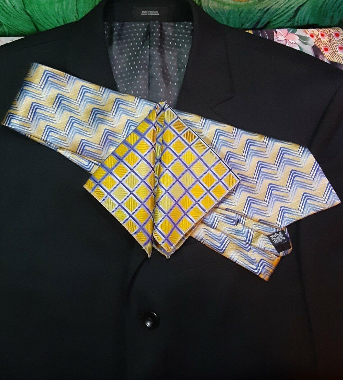 Men's Polyester Pocket Squares, 10