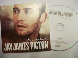 JAY JAMES PICTON Play It By Heart   2012 UK CD PROMO  Pop Soul  BARGAIN - Hayes, Middlesex, United Kingdom - JAY JAMES PICTON Play It By Heart   2012 UK CD PROMO  Pop Soul  BARGAIN - Hayes, Middlesex, United Kingdom