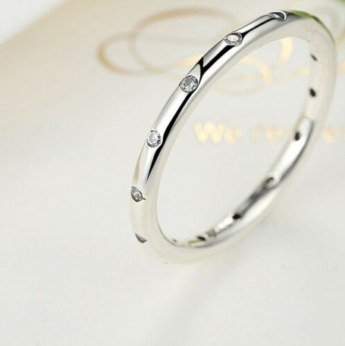 925 Sterling Silver Size 6 7 8 Happy Peace Ring fit Euro Charm Bracelet RINGS