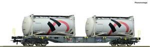 Roco-76943-Containerwagen-SBB-Holcim-Ep-VI-Auf-Wunsch-Achsen-fuer-Maerklin-gratis