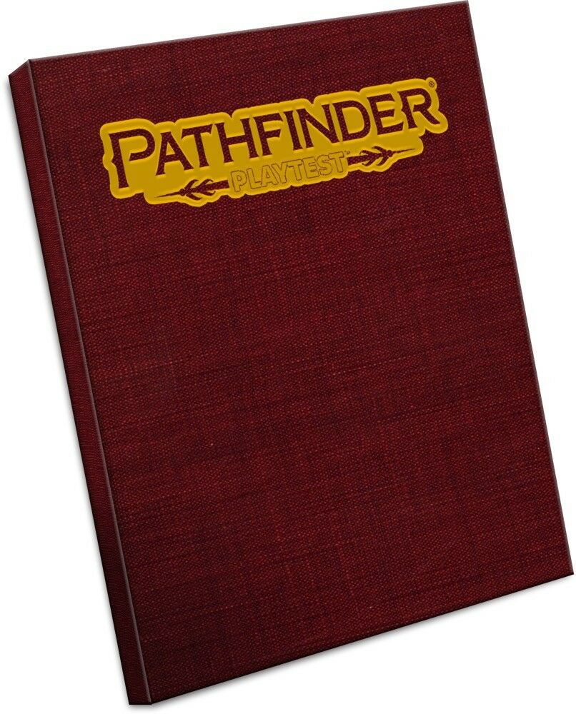 Pathfinder Roleplaying Game Pathfinder Playtest Rulebook Special Edition