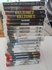 Playstation Three (3) - PS3 - Wholesale Lot #2 - Twenty (20) Games With Cases