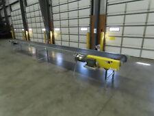 Automotion 24 X 25 Slider Bed Conveyor 20 Belt 460v 3ph Rh End Drive 185fpm
