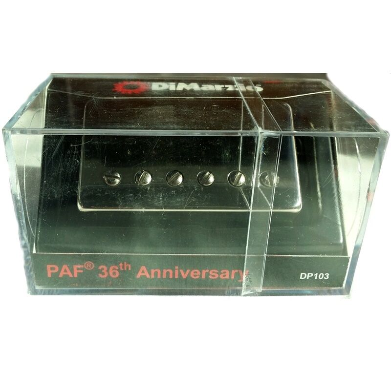 DiMarzio DP103N PAF Single Conductor Humbucker 36th Anniversary Pickup Nickel