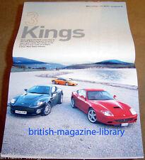 Evo Magazine Issue 76 - Ferrari 575 v Lamborghini Murcielago v Aston Vanquish