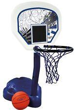 SwimWays Poolside Basketball Hoop Pool Water Game Set with Ball   12265