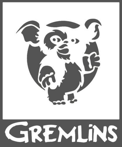 Gremlins Gizmo Vinyl Decal Sticker Car Van Laptop