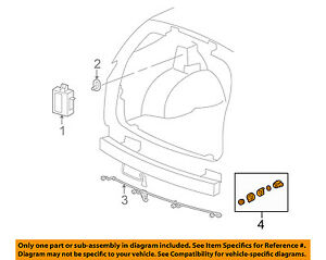 PDC parking aid sensor reverse ultrasonic Cadillac Escalade SRX Chevrolet Tahoe