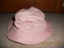 3d7a0420204 Chicago Cubs Baseball Floppy Hat Bucket Pink Girls Baby Infant Size Sun Hat  L