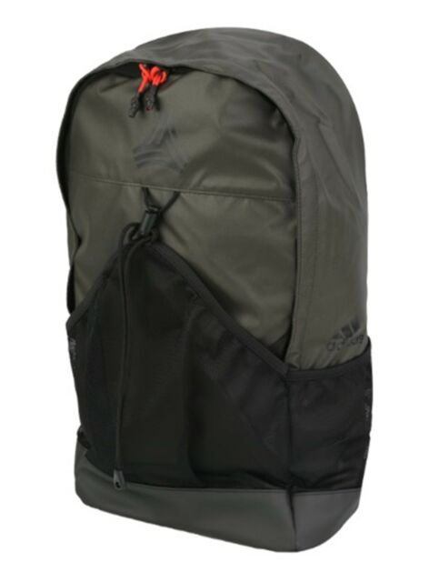 adidas Football Street Backpack Bags Sports Black Training Casual ... e833619fb42f3