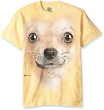 3430e4aa item 2 The Mountain Mens / Womens Chihuahua Dog Large Face Adult T-Shirt,  Yellow, Large -The Mountain Mens / Womens Chihuahua Dog Large Face Adult T- Shirt, ...