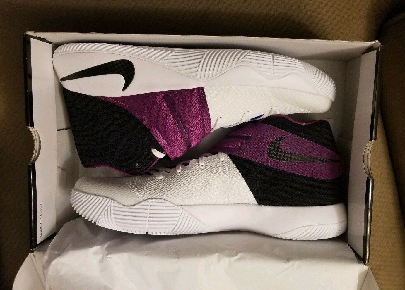 Nike Kyrie Irving 2  Bold Berry  Hurache Mens Size 15