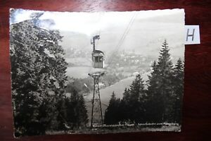Brillant Carte Postale Vue Carte Saxe Station Thermale Oberwiesenthal Erzgeb-afficher Le Titre D'origine