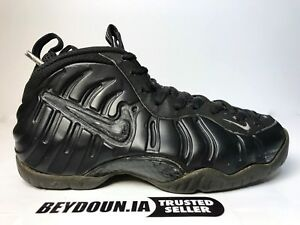 another chance 72e1d dc705 Image is loading Nike-Air-Foamposite-Pro-Blackout-Stealth-630304-002-