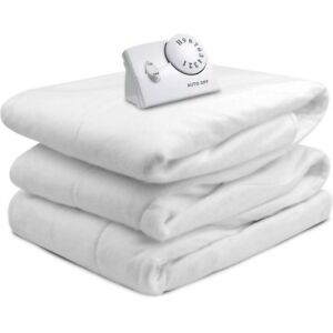 Biddeford FULL Size Electric Heated Mattress Pad Warming Quilted