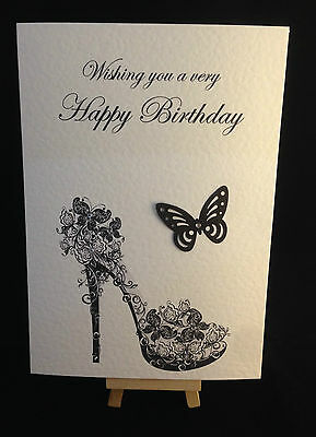 Personalised Hand Made Daughter Mother Mum Sister Friend Aunty Birthday Card