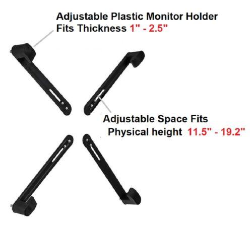 003-0023 EZM Adapter Kit for Most Non-VESA LCD//LED//Plasma screens