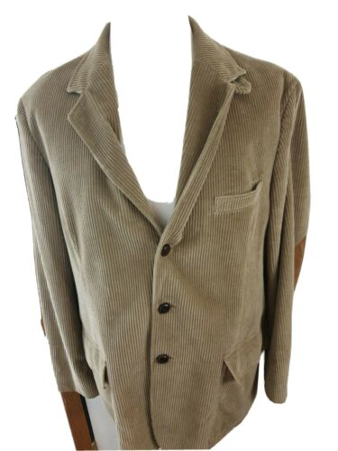 Orvis Men's Sports Jacket Blazer Beige Corduroy El