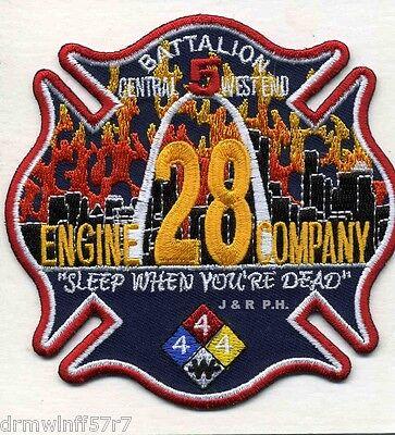 Saint Louis Fire Department Museum Patch Missouri MO