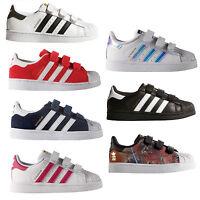 adidas Originals Superstar Sneaker di infante Scarpe velcro Scarpe bambino